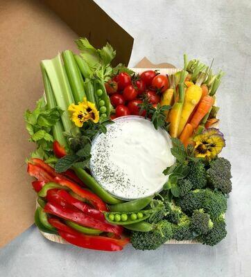 Small Farmer's Market Crudités Box
