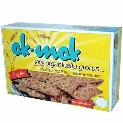 Ak-Mak whole wheat sesame crackers 4.15 oz