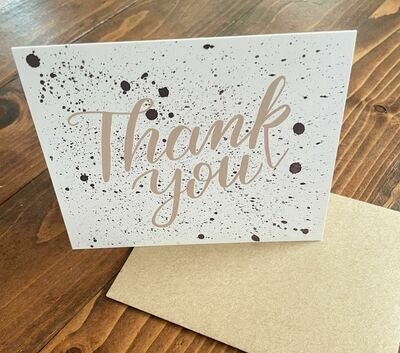 Premium Thank You Card add on