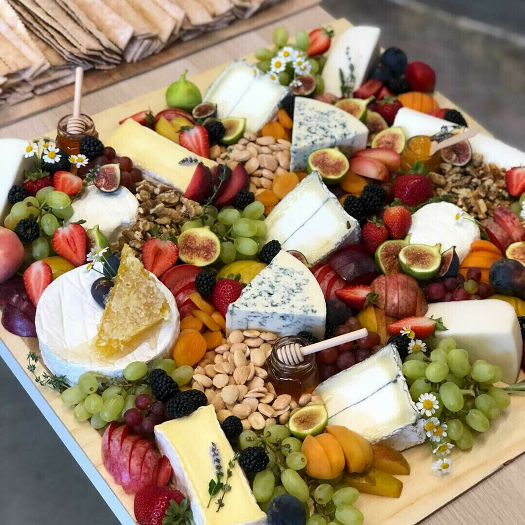 The Cheese & Fruit Board (Serves 20-30)
