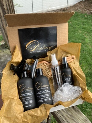 Quarantine Beauty Kit (for Extensions, Long & Natural Hair)