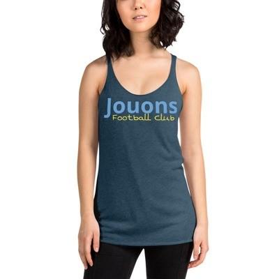 Jouons FC fan Women's Racerback Tank