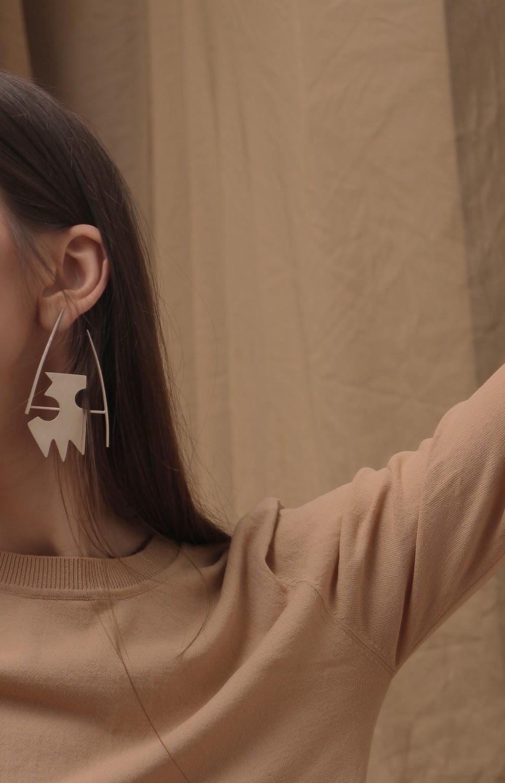 horseman earrings