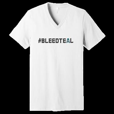#BleedTeal V-Neck