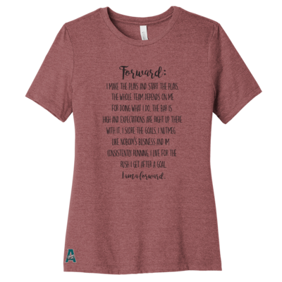 Forward Women's Tee