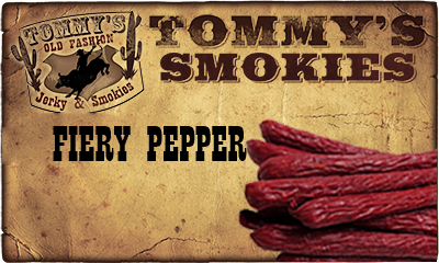 Fiery Pepper Beef Smokies