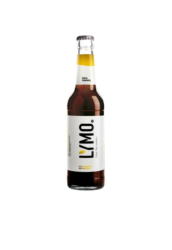 LYMO Kola.Orange. Paket (9 Flaschen á 0,33l)