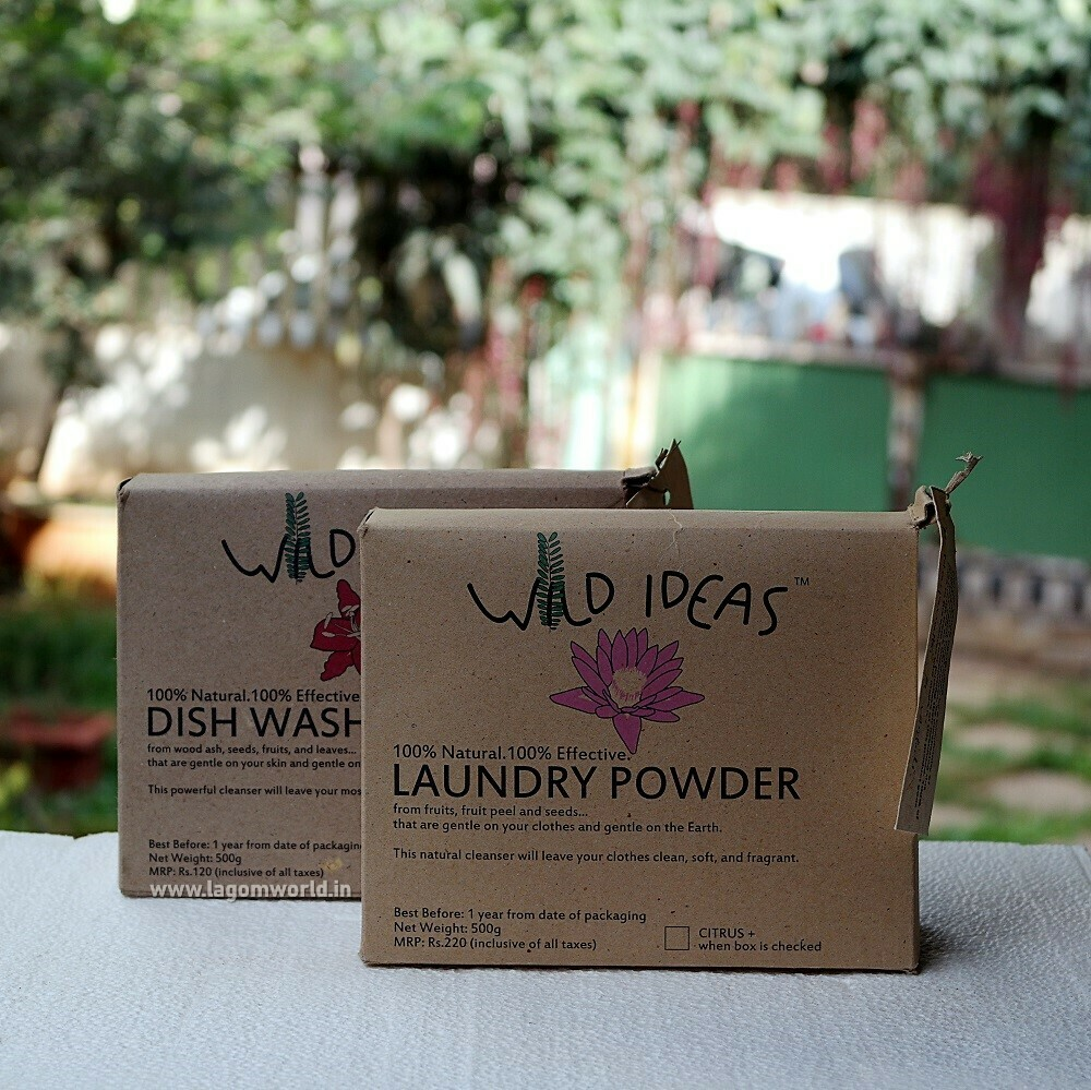 Lagom's Dish & Laundry Powder Combo