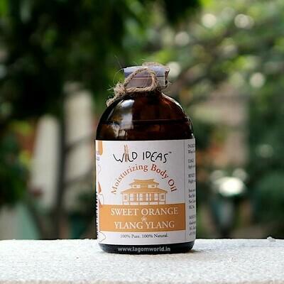 Moisturising Body Oil [Sweet Orange & Ylang Ylang]-100ml