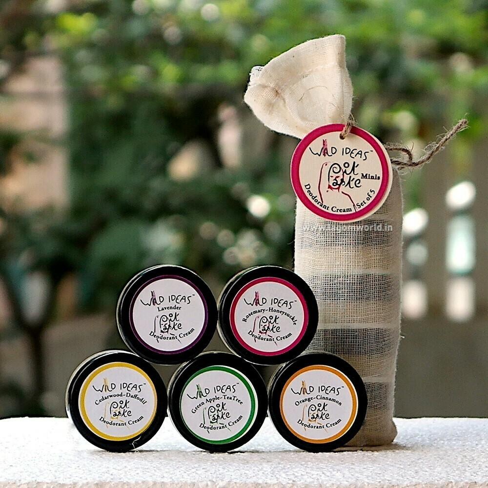 Pit Paste - Mini Deodorants (Set of 5)