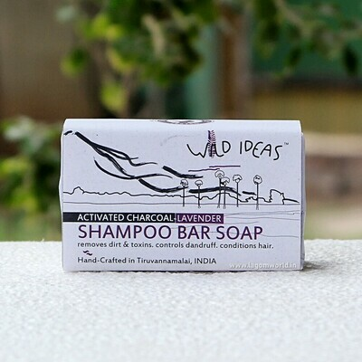 Shampoo Bar Soap - Activated Charcoal & Lavender