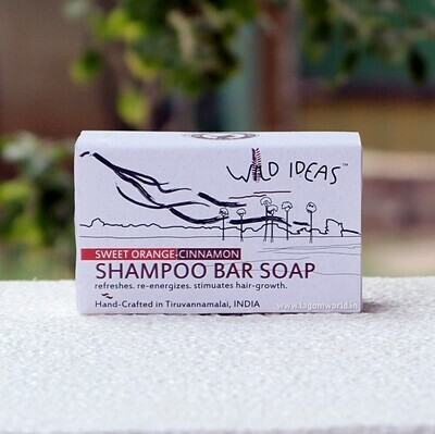Shampoo Bar Soap - Sweet Orange & Cinnamon