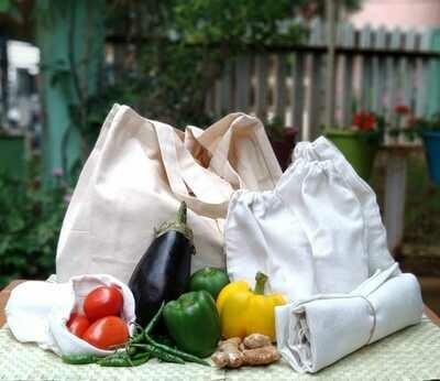 Shopping Bag with Fridge Bag set