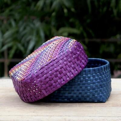 Gift Box Small in Purple & Blue