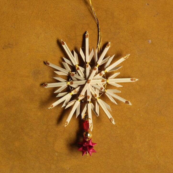 1 Snowflake & 1 Small Star-Set of 3