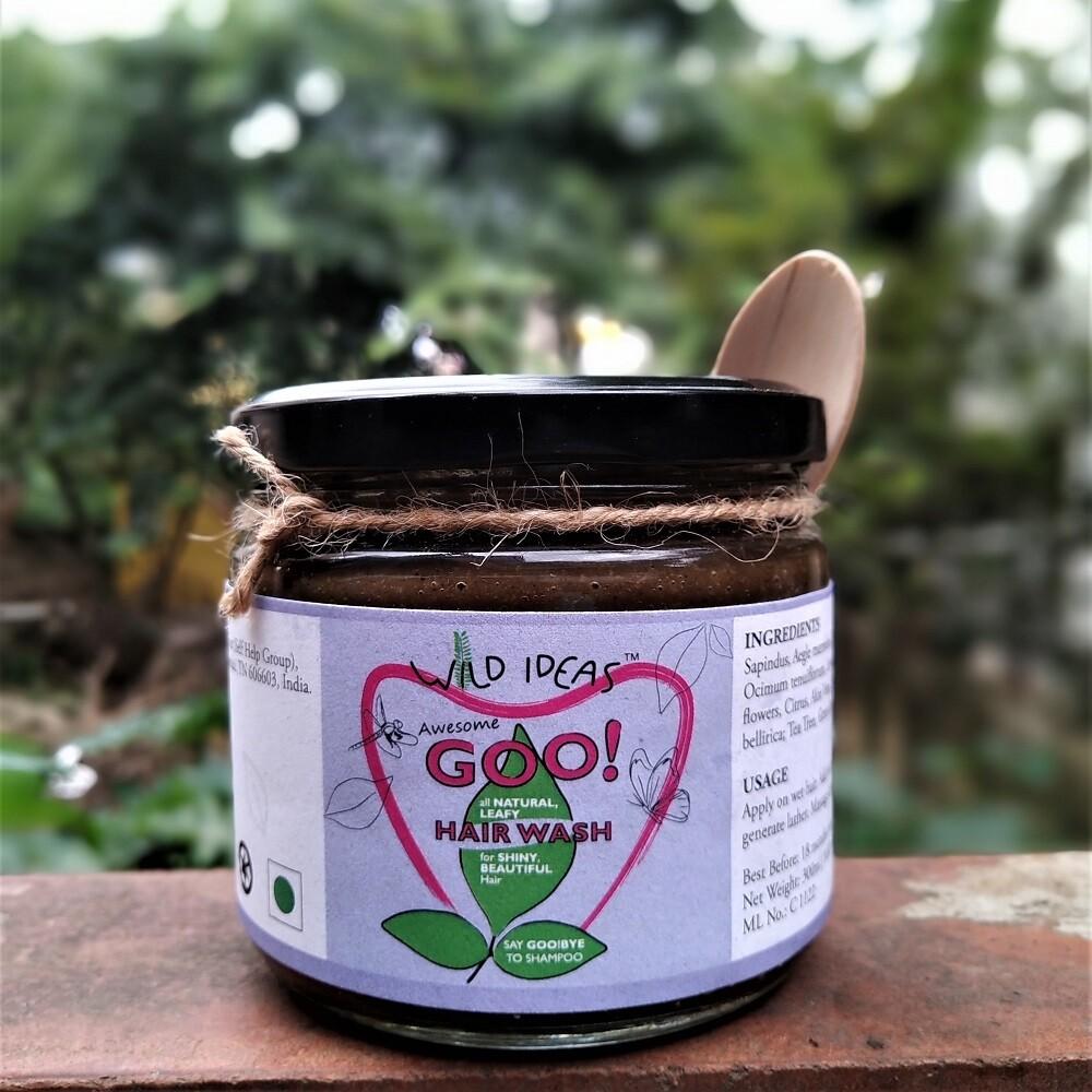 Awesome Goo [Natural Leafy Hair Wash Plus] - 300ml