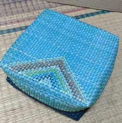 Gift Box Large - Deep Indigo & Cobalt Blue