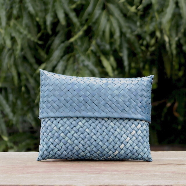 Clutch Bag Large --Double Weave