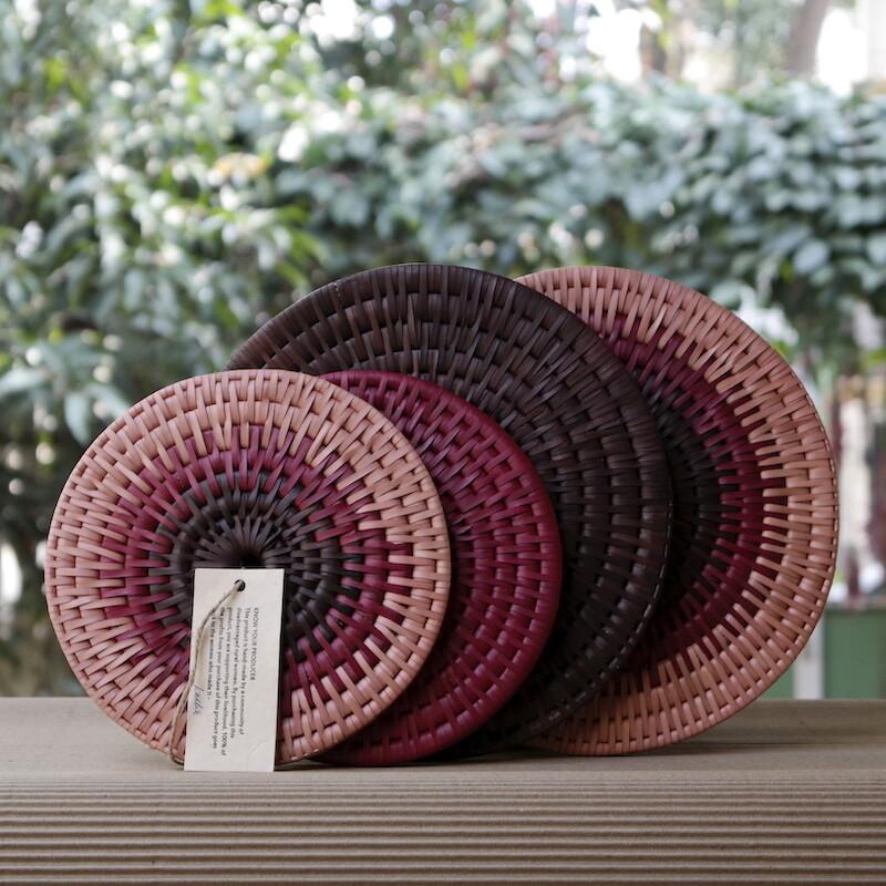 Table Coasters -- Earth Hues [Set of 4]