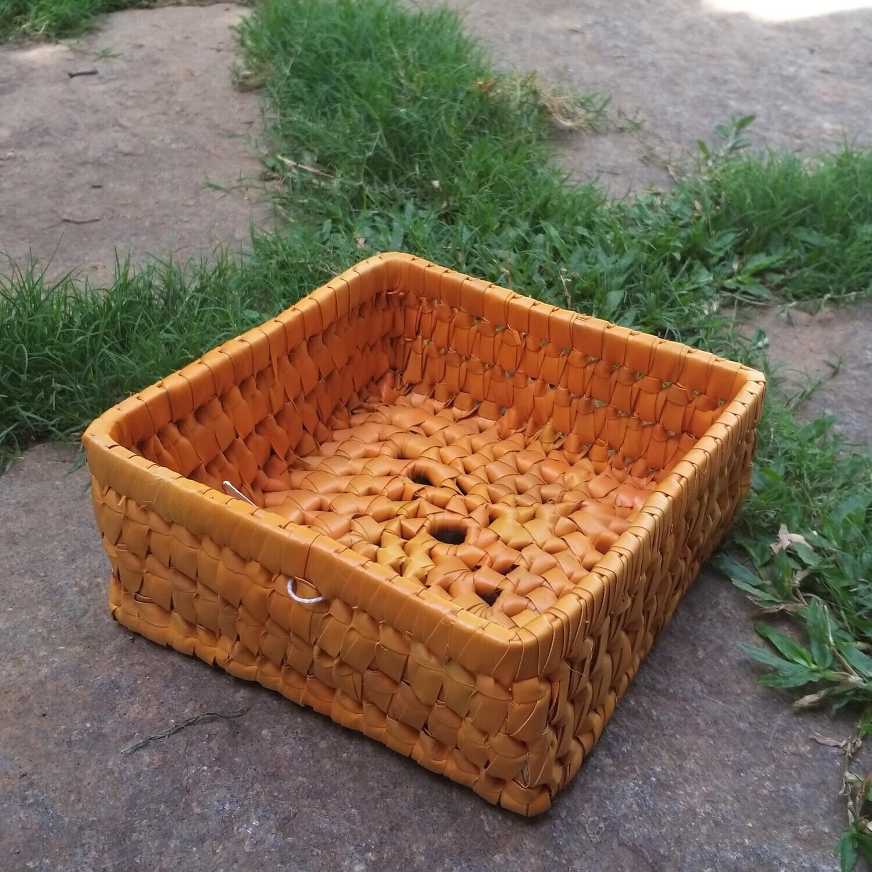 Square Gift Tray - Orange
