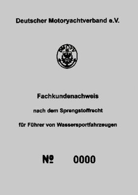 Fachkundenachweis FKN