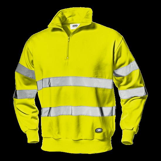 """Warnschutz-Sweatshirt """"Runner"""" gelb"""