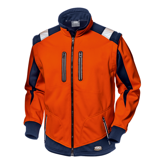 "Softshelljacke ""Starflex"" orange"