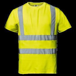 """Warnschutz - T-Shirt """"Mistral"""" gelb"""