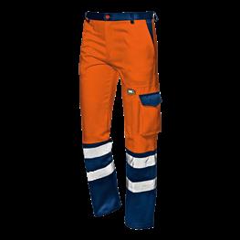 """Warnschutz - Bundhose """"Velvet"""" orange"""