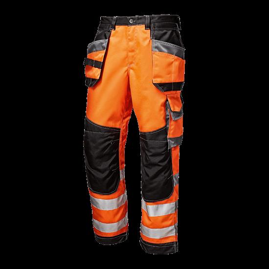 "Warnschutz - Bundhose ""Rush"" orange"
