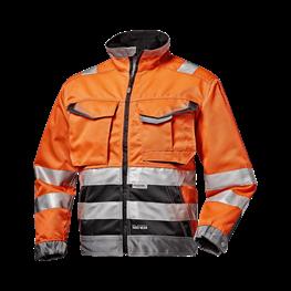 """Warnschutz - Jacke """"Rush"""" orange"""