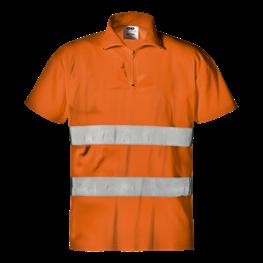 """Warnschutz - Polo """"Mistral"""" orange"""