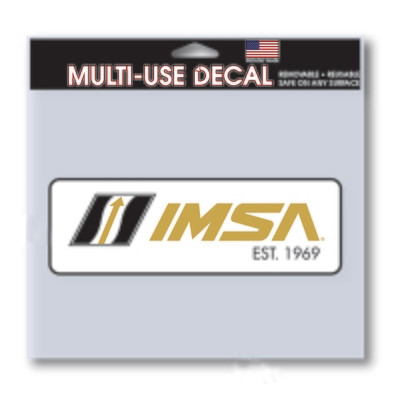50th IMSA Est. 1969 Decal