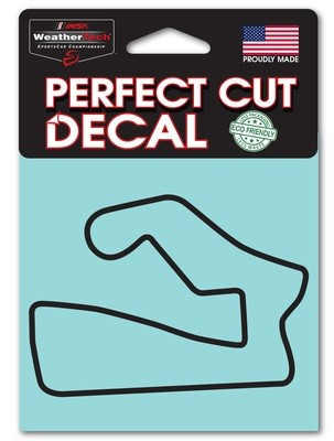 Road America Black Track Outline