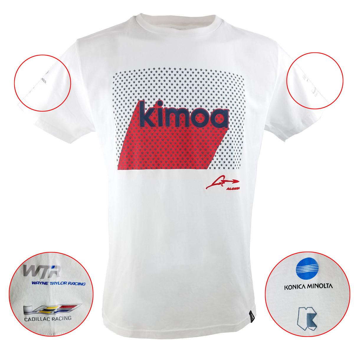 Kimoa White Daytona Tee