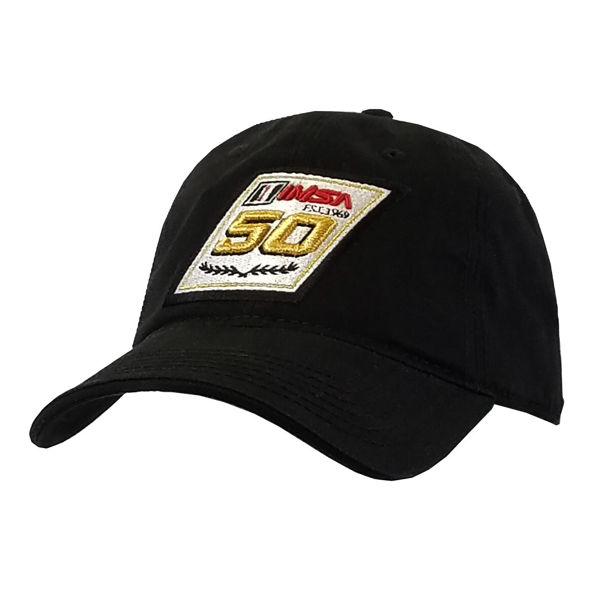 IMSA 50th Anniversary Black Relaxed Hat