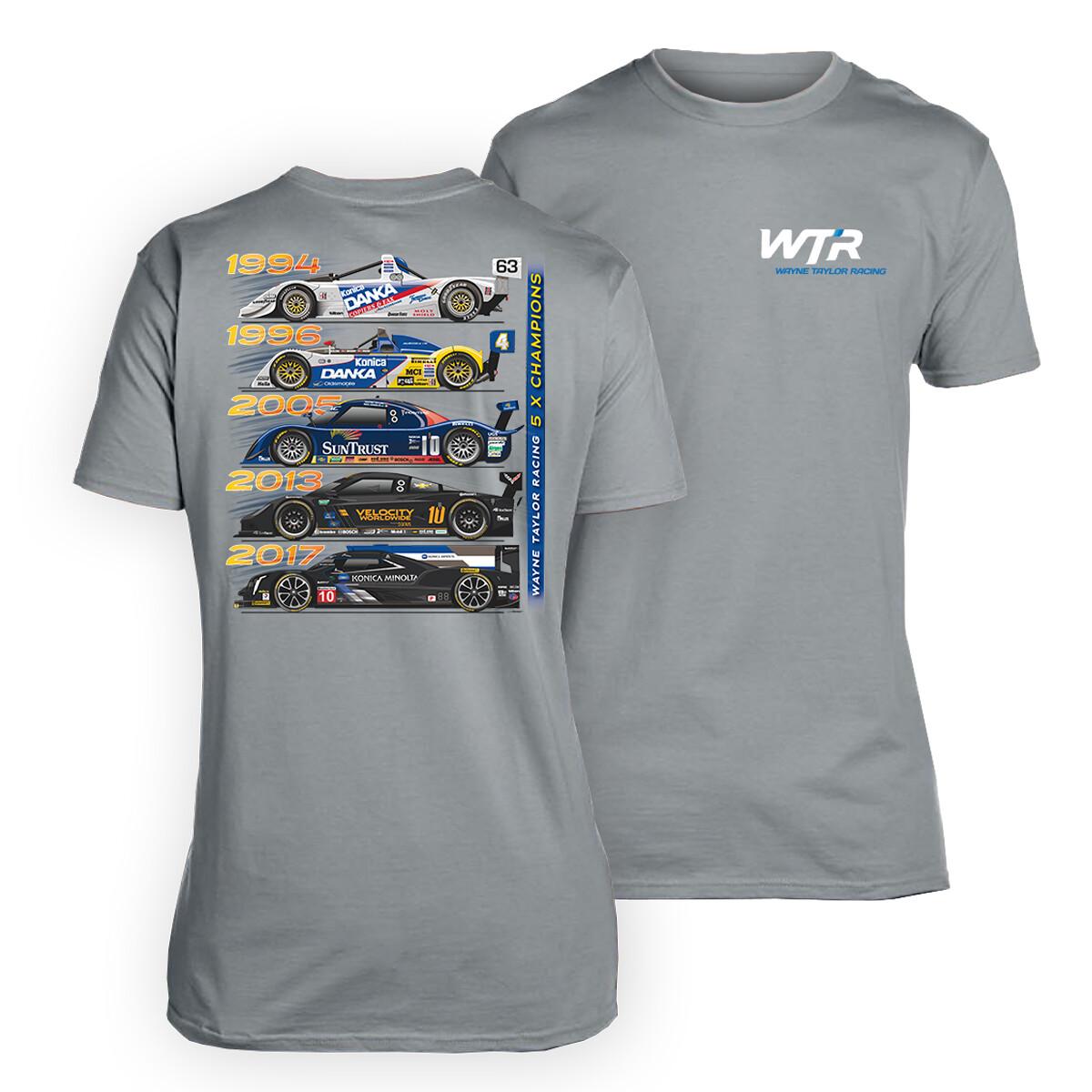 WTR Champions Tee Grey