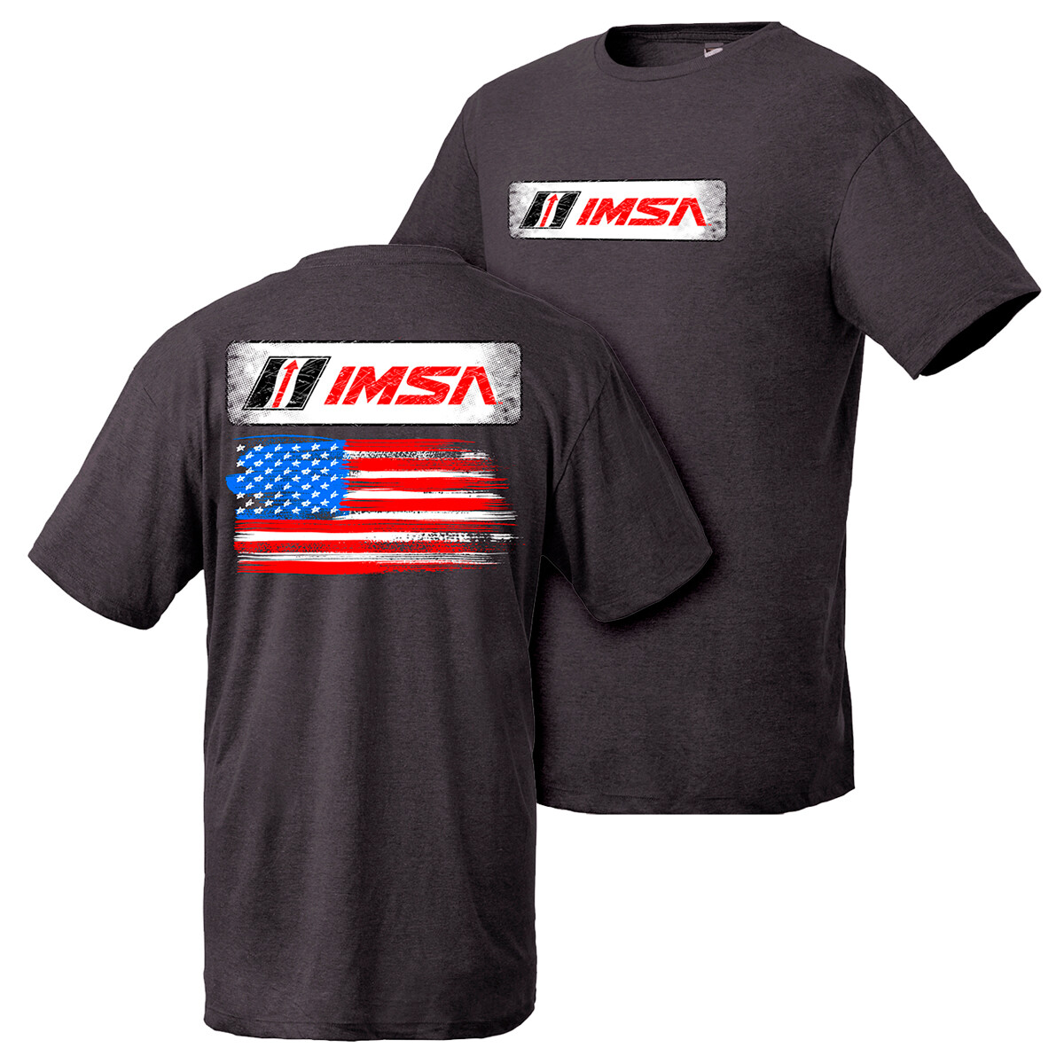 IMSA Flag Design - Black Heather