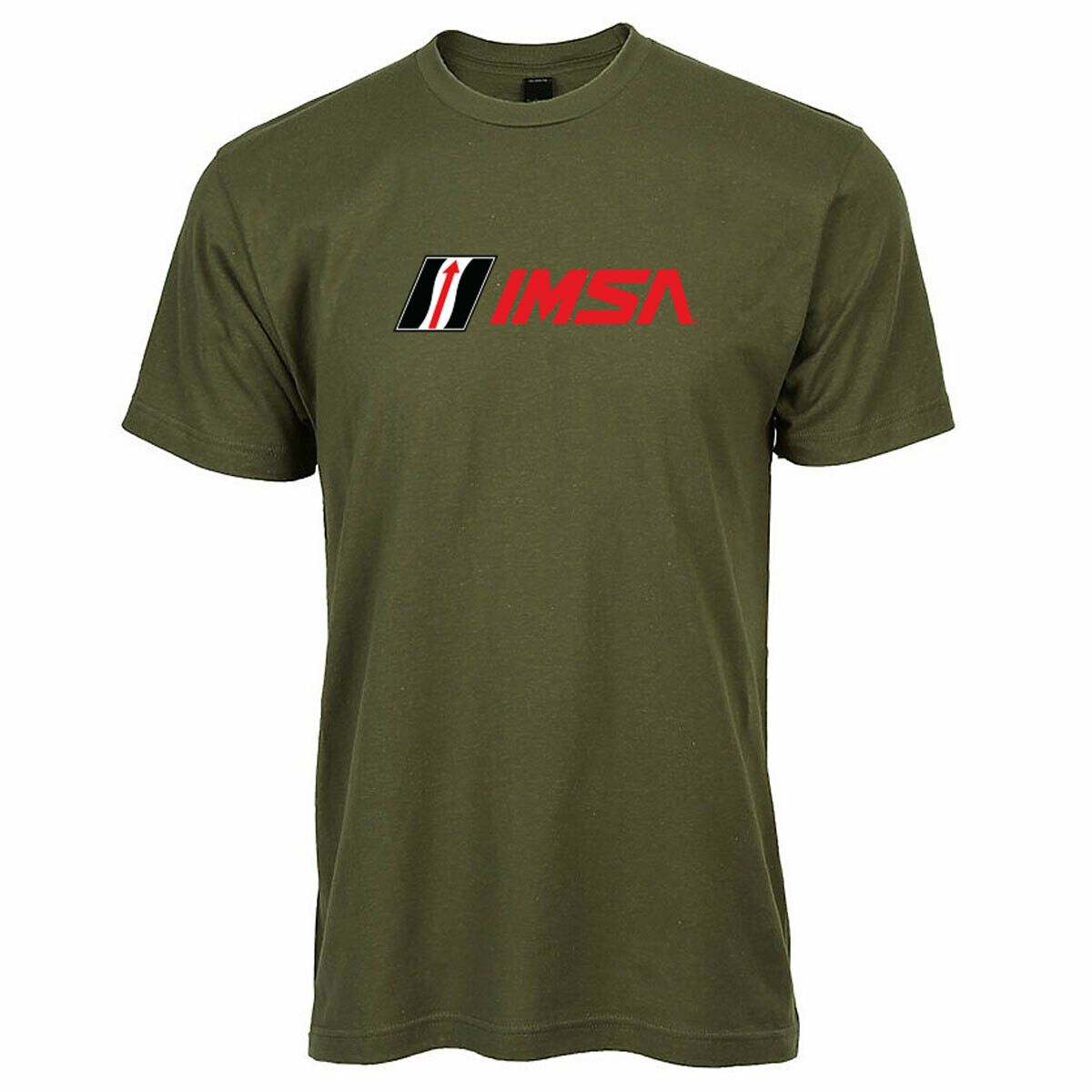 IMSA FC Logo T-Military Green