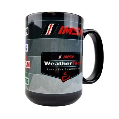 IMSA Tech Cars Coffee Cup