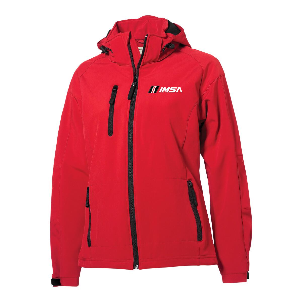 IMSA Ladies Tulsa Jacket Red