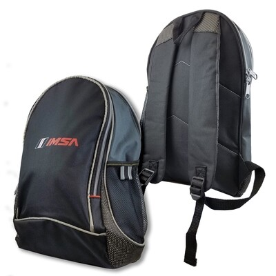 IMSA Backpack -TitleTrack Black/Grey