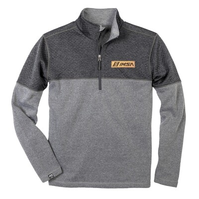 Diamond Fleece Pullover Grey/Patch