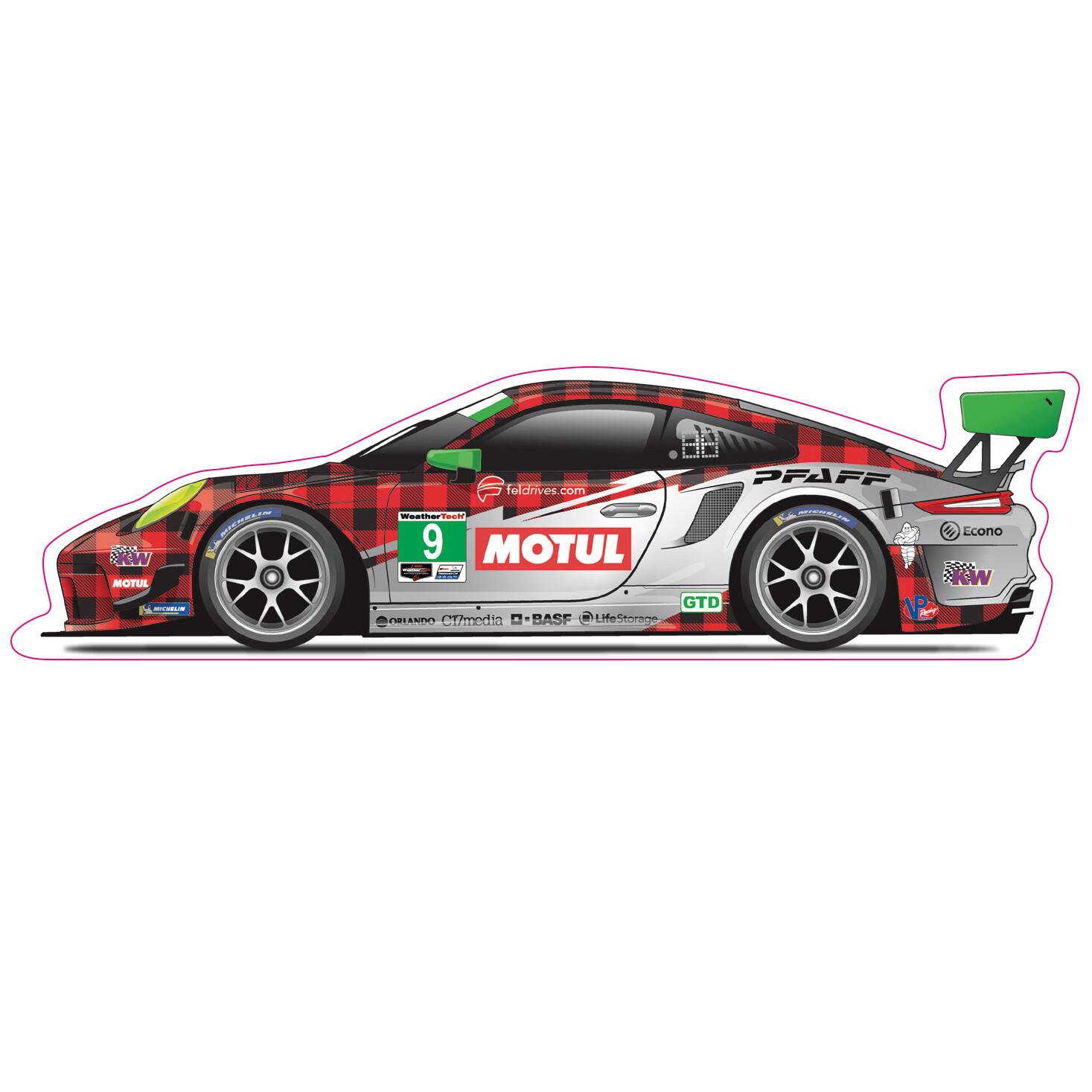 Pfaff Motorsports Decal