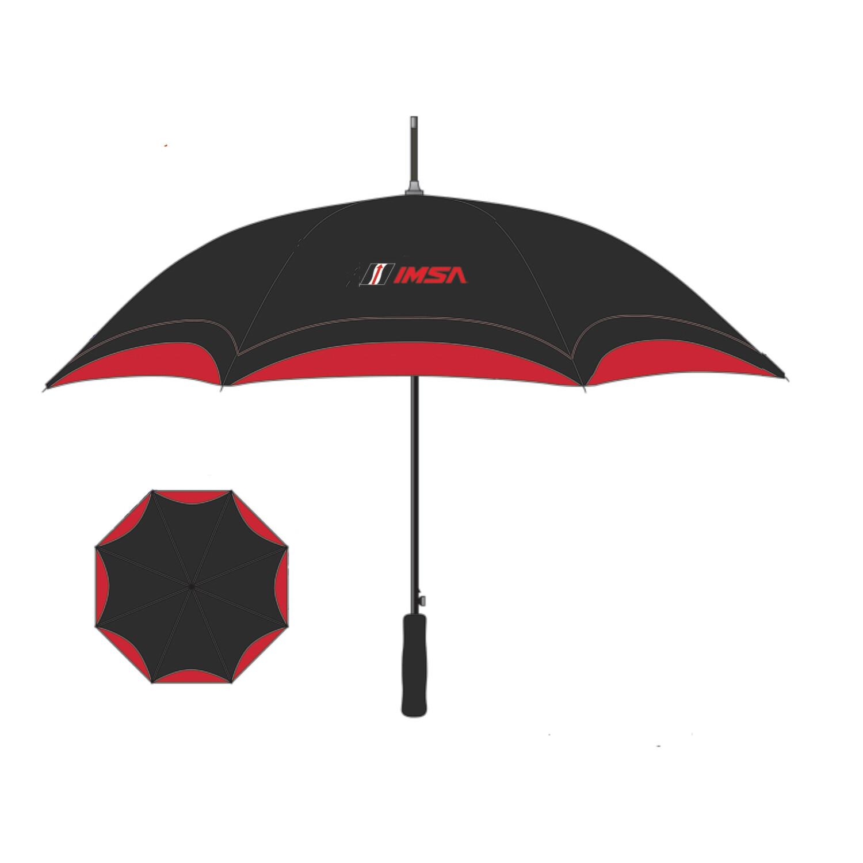 IMSA Umbrella - Black/Red