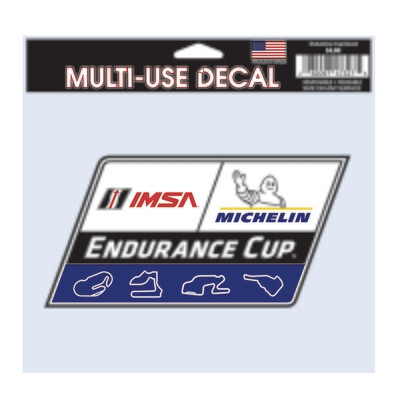 IMSA Endurance Cup Decal