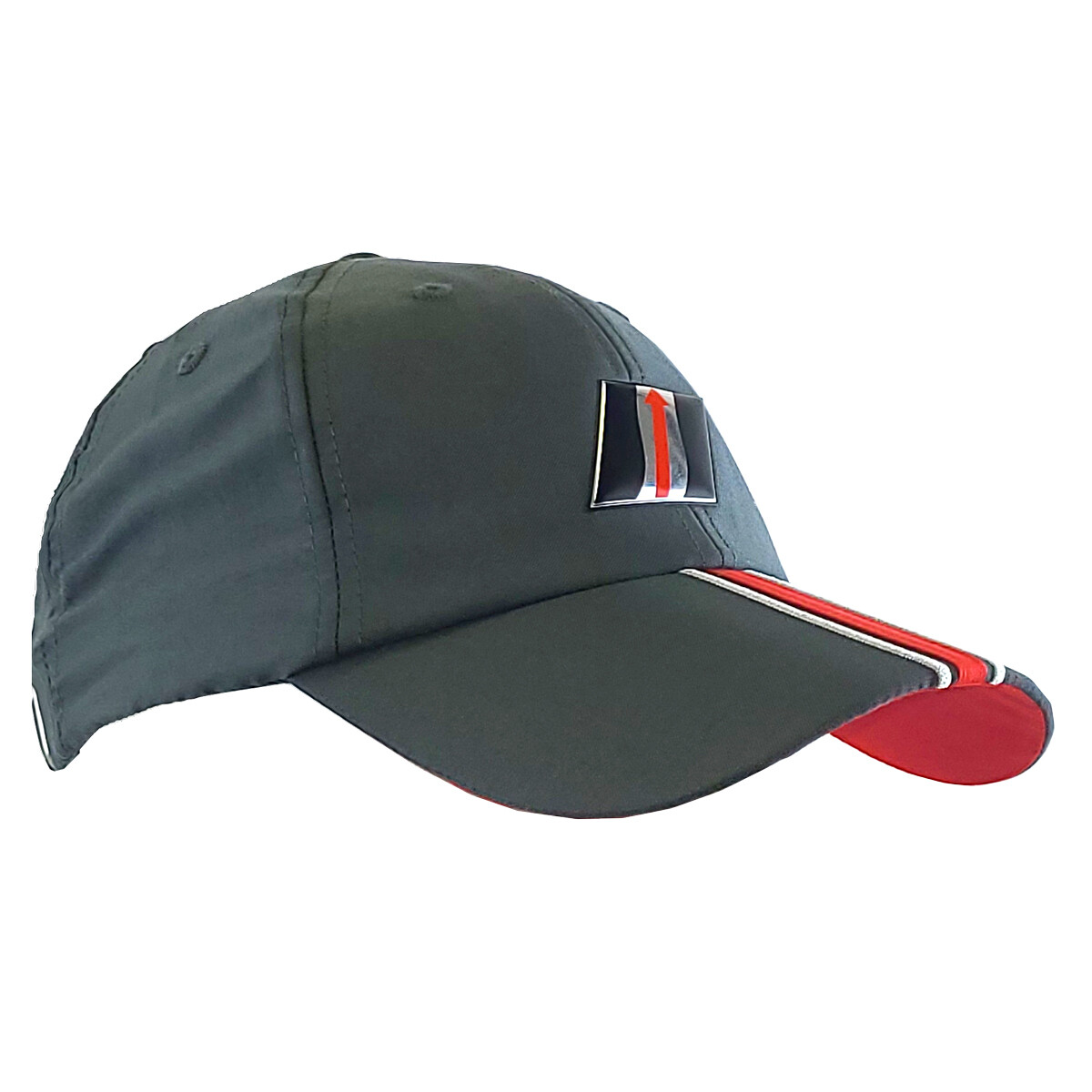IMSA Liquid Metal Logo Hat - Grey/Red