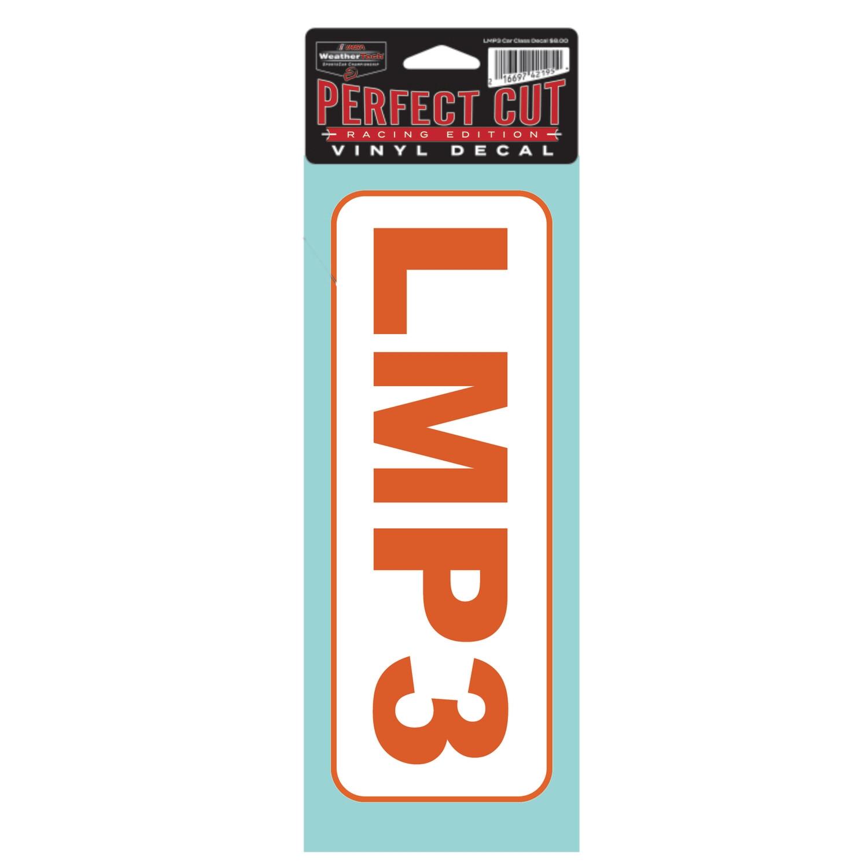 LMP3 Car Class Decal