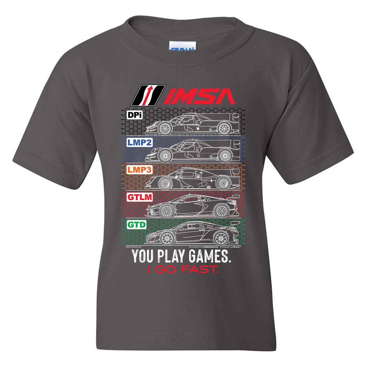 IMSA Youth Car Blueprint T-Grey