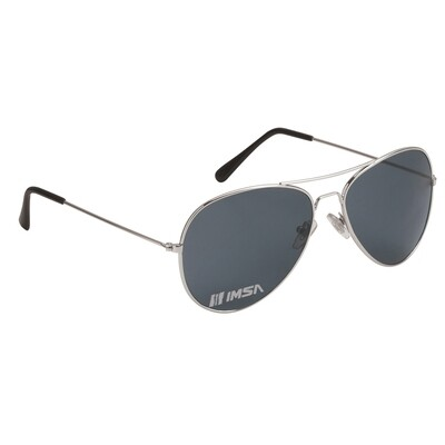 IMSA Aviator Sunglasses Silver/Black